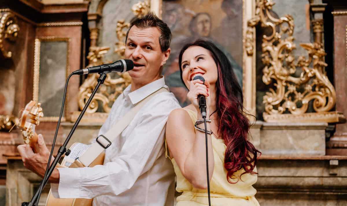 Just-Married Duo mit Danja & Andy